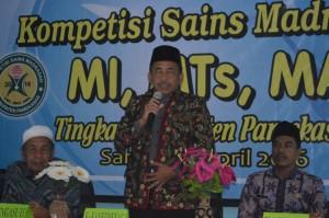 Sambutan Kepala Kemenag Kabupaten Pamekasan